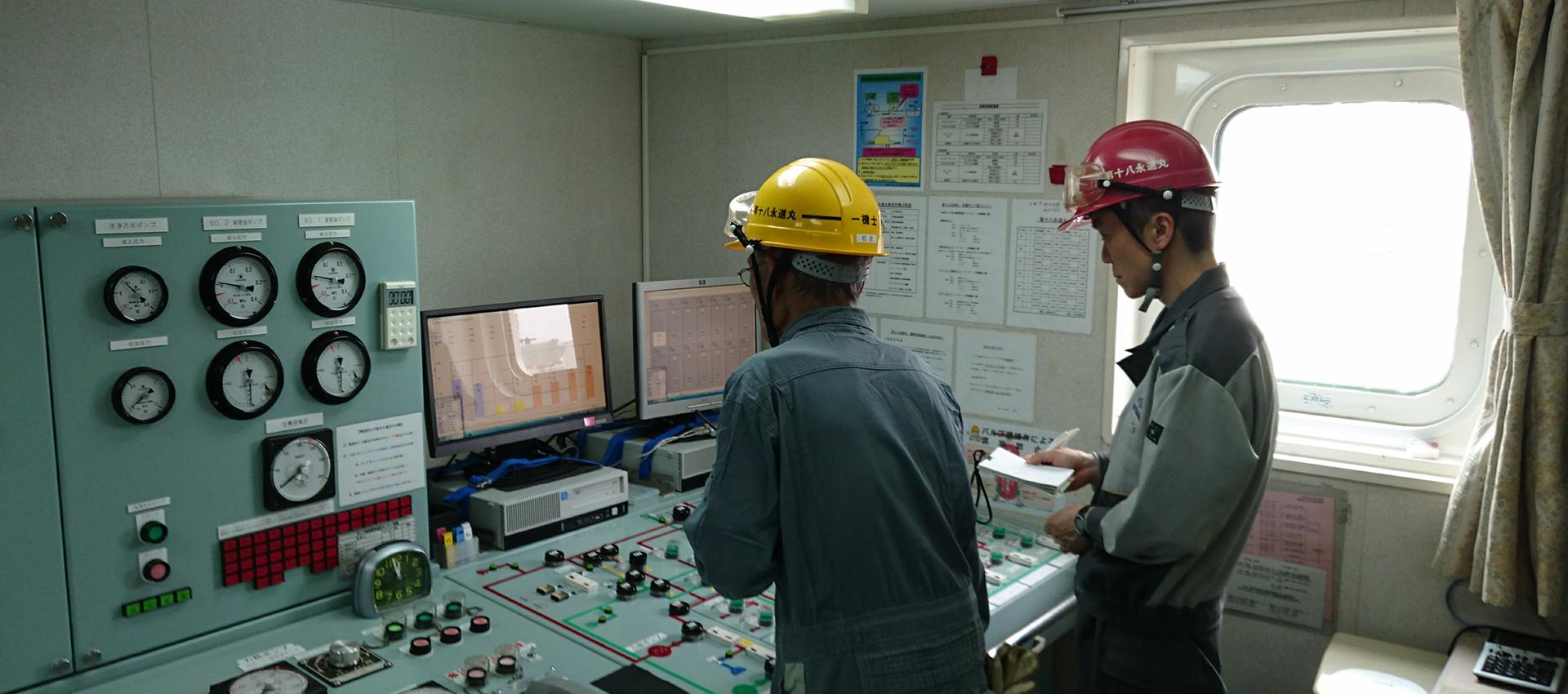 興栄海運株式会社・船員の一日